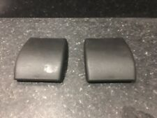 FORD MONDEO MK3 2001-2007 REAR SEAT BOLT/HINGE COVERS X 2 IN BLACK