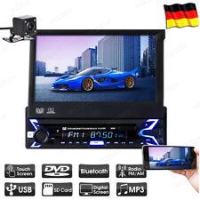 "AUTORADIO DVD CD 1 DIN BLUETOOTH 7"" TOUCHSCREEN DISPLAY MP3 USB AUX SD + Kamera"