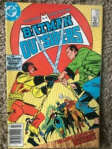 Batman and the Outsiders #12 DC July 1984 VF (8.0) or better