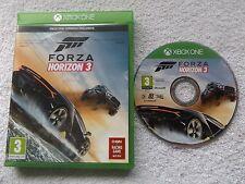 FORZA HORIZON 3 XBOX ONE V.G.C. FAST POST ( realistic arcade racing simulator )
