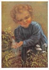 "vintage blank greeting cards  artist Spötl ""happy child ""1353"""