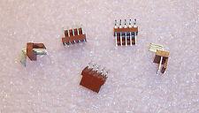QTY (25)  22-05-3051 MOLEX 5 POSITION R/A SHROUDED FRICTION LOCK HEADERS