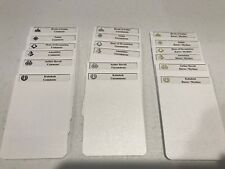 CUSTOM MAGIC THE GATHERING LABELS / CARD DIVIDERS FOR ANY SET! COLORED SYMBOLS