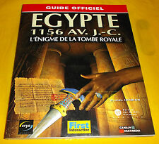 GUIDE OFFICIEL EGYPT 1156 AV. J-C L'énigme de la Tombe Royale - Francese ○ BUONA
