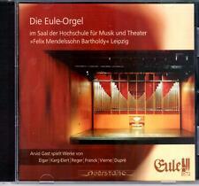 ARVID GAST spielt DIE EULE-ORGEL i.d. HOCHSCHULE MUSIK & THEATER LEIPZIG / ELGAR