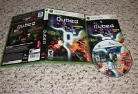 Qubed (Microsoft Xbox 360) COMPLETE Tested FAST SHIPPING