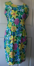 Vintage Express Campagnie Internationale Dress Floral Summer Juniors Size 9