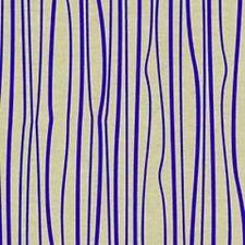 Andover - Blue Stripe - Linen cotton/linen mix Fabric Patchwork Quilting