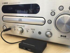 Bluetooth Audio Transmitter for Yamaha CRX-D430, Soundbars and wireless headsets