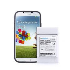 Batería Extendida 9000mah con cubierta negra para Samsung Galaxy S4 i9500 i9505