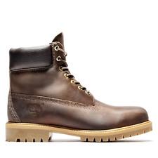 Timberland Men's Winter Outerwear 6-Inch Premium Heritage Classic Boots Dark Bro