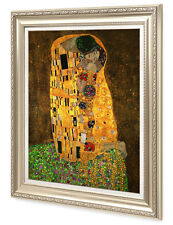 "DecorArts-The Kiss,by Gustav Klimt Giclee Print& Museum Quality Framed  24x30"""
