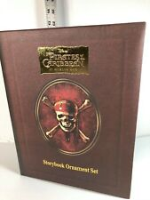 Disney Pirates of the Caribbean: At World's End - Storybook Ornament set - NEW