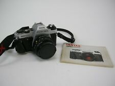 Pentax Super Program 35mm SLR camera w/ 50mm f2 SMC Pentax-A Lens