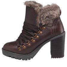 Firetrap Womens Quarry Boots, Brown, UK 4 EU 37, BNIB, RRP £119.99