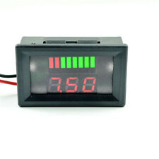 UK 12V Lead-acid Battery Indicator Intuitive Voltage Display LED Display Meter