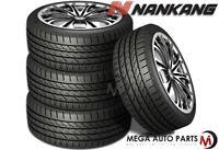 4 Nankang NS-25 NS25 All-Season UHP Ultra High Performance 225/45R17 94V Tires