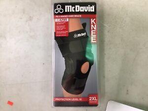 NEW McDavid Ps II Hinged Knee Stabilizer Brace Support 429R XXL 2XL ( LEVEL 3)