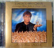 Elton John Lalique Gold CD Single Someone to Watch Over Me Mint Promo Adler Larr
