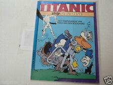 TITANIC STRIP MAGAZINE 1984-04 DE GENERAAL MOTO COVER, RANX IN NEW YORK,VARENNE,