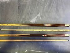 Pool snooker billiard Cue 2 piece ash 9.5mm tip