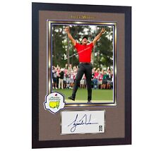 2019 Tiger Woods Masters Tournament signed autographed GOLF photo printed FRAMED