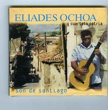 CD (NEW) ELIADES OCHOA Y CUARTETO PATRIA SON DE SANTIAGO (CUBA)