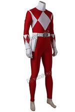 Power Rangers Cosplay Costume Red Tyranno Ranger Geki Red Jumpsuit Men Props New