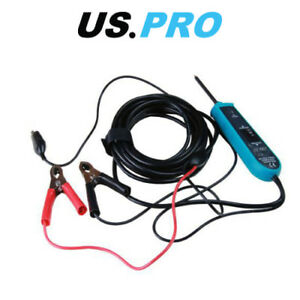 US PRO Automotive Circuit Tester Lance Probe  6 - 24 Volts digital tester 6789