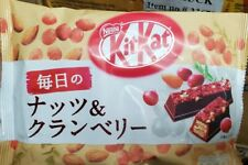 Japanese Nestle KitKat Nuts & Cranberry Ruby Chocolate Mini Pcs USA SELLER
