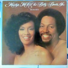 MARILYN McCOO AND BILLY DAVIS JR. LP THE TWO OF US 1977 USA VG++/VG++ OIS