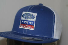 Ford New Holland Hat Flatbill Baseball Cap OEM Trucker Tractor K Products Mesh
