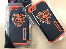 For Apple iPhone 5 5S SE Chicago Bears NFL Dual Hybrid 2 Piece Case