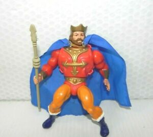 Vintage KING RANDOR 1983 Masters of The Universe He Man Action Figure w Staff