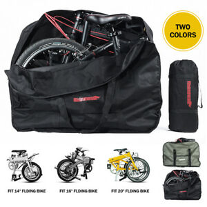 14-26'' Folding Bike Carrier Bag Travel Pouch for Storage Bicycle Big Capacity