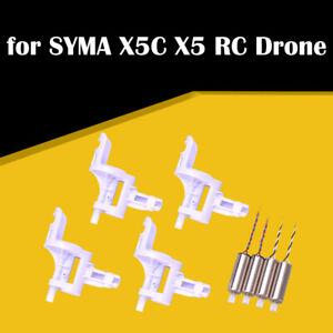 2 CCW + 2 CW Motors + 4pcs Motor Base Cover For SYMA X5C X5 RC Drone Quadcopter