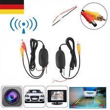 2,4GHz Sender Empfänger Kabellos Transmitter für Auto Rückfahrkamera&Monitor Neu