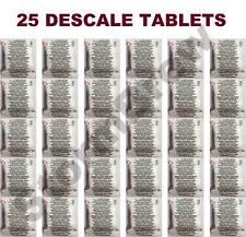 25 comprimés détartrant détartrage pour Krups & delonghi machines à café dolce gusto