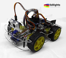 KIT SMART CAR 4WD MULTIFUNZIONI MULTIFUNCTION CAR ROBOT ARDUINO COMPATIBILE