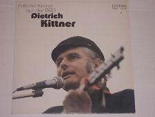 Dietrich Kittner cabaret politico provenienti dalla Germania-LP bibliografi