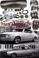 64-72 Chevelle, El Camino, GTO, LeMans, Tempest, A-Body Air Ride Suspension Kit