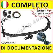 Gancio di traino fisso Renault  Espace IV 2002- + kit elettrico 7-poli Rimorchio