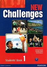 Pearson NEW CHALLENGES 1 Students Book Coursebook Level A1 @BRAND NEW@
