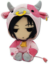*NEW* Black Butler: Sebastian Cow Cosplay Plush by GE Animation