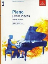 ABRSM Selected Piano Exam Pieces: 2013-2014 (Grade 3)Book Only,Sheet Music-F004
