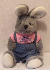 Target Plush Bunny Rabbit Dayton Hudson Blue Jean Overalls Greatland Cuddables