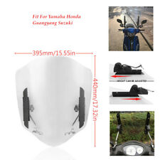 Motorcycle Windshield Plate Front Bracket Reflector Fit For YAMAHA Suzuki Honda