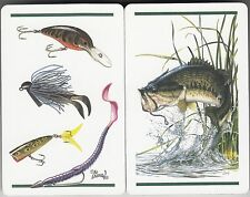 Playing Swap Cards  GENUINE 2 single only FISH & LURE FISHING