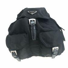 PRADA nylon rucksack mini backpack black used 1089-9.Z