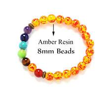 7 Chakra Healing Balance Beaded Bracelet Natural Stone Yoga Reiki blessing